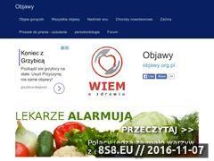 Miniaturka objawy.org.pl (Opisy chorób i metody ich leczenia)