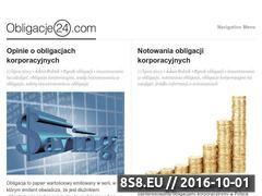 Miniaturka domeny obligacje24.com