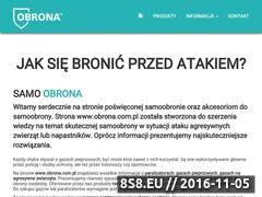 Miniaturka Produkty do samoobrony - gazy na psy oraz pieprzowe (obrona.com.pl)