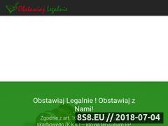 Miniaturka obstawiajlegalnie.pl (Serwis o zakładach i typach bukmacherskich)