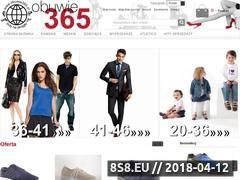 Miniaturka obuwie365.pl (Hurtowa sprzedaż butów online)