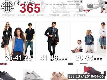Zrzut strony Hurtowa sprzedaż obuwia