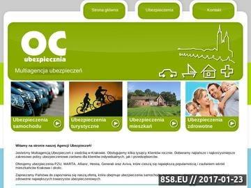Zrzut strony Ubezpieczenie OC