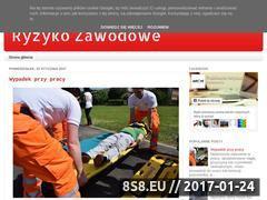 Miniaturka domeny ocenaryzykazawodowego.blogspot.com