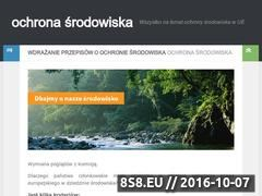 Miniaturka ochrona-srodowiska.eu (Ochrona środowiska)
