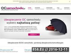 Miniaturka domeny www.ocsamochodu.pl