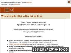 Miniaturka Wywoływanie zdjęć online (odbitka.net)