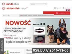 Miniaturka domeny odblaski24.com.pl