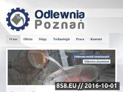 Miniaturka domeny www.odlewnia-poznan.pl