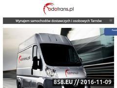 Miniaturka domeny www.odotrans.pl