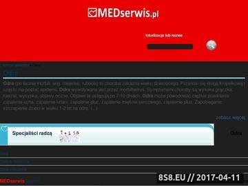 Zrzut strony Odra Leczenie Warszawa