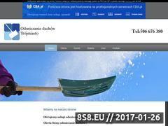Miniaturka domeny www.odsniezanie-gdynia.cba.pl