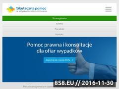 Miniaturka domeny www.odszkodowania-lodz.com.pl