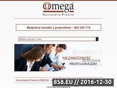 Miniaturka domeny odszkodowaniaomega.pl