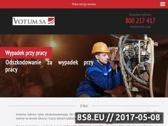 Miniaturka domeny odszkodowaniedlapracownika.pl