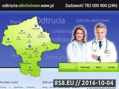Miniaturka domeny www.odtrucia-alkoholowe.waw.pl