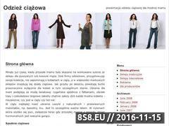 Miniaturka domeny www.odziez.ciazowa.pl