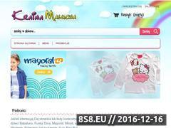Miniaturka domeny www.odziezdladzieci.pl