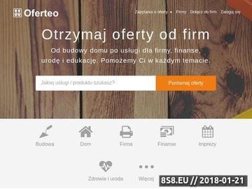 Zrzut strony Oferty Firm, Zlecenia, Ogłoszenia - Kupię, Zlecę - Oferteo.pl