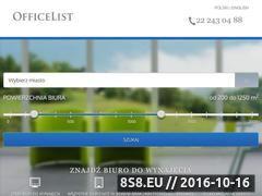 Miniaturka domeny www.officelist.pl