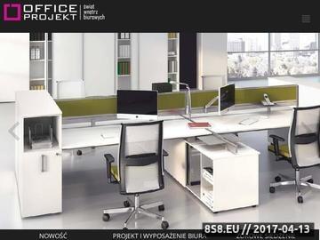 Zrzut strony Meble biurowe - Office Projekt
