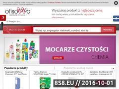 Miniaturka ofisowo.pl (Porównywarka cen artykułów biurowych)