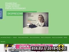 Miniaturka ogloszenia-pisanieprac.pl (Pisanie prac)