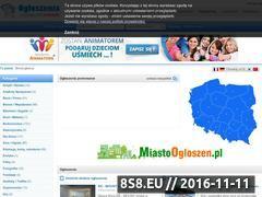 Miniaturka domeny ogloszeniadarmowe.com.pl