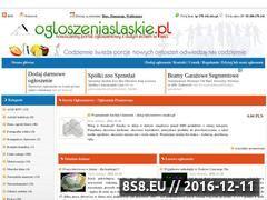 Miniaturka domeny ogloszeniaslaskie.pl