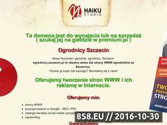 Miniaturka domeny ogrodnicy.szczecin.pl