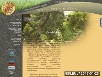 Zrzut strony Ogrody i brukarstwo Poznań