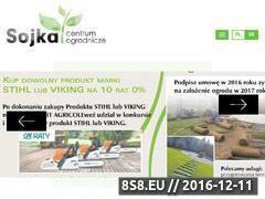 Miniaturka domeny www.ogrodsojka.pl