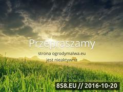 Miniaturka domeny www.ogrodymalwa.eu
