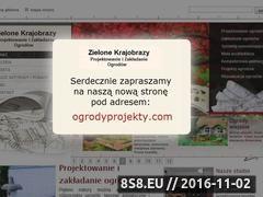 Miniaturka domeny www.ogrodyprojekty.pl