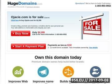 Zrzut strony Ojacie.com -Ciekawe Budowle