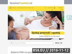 Miniaturka domeny ojcostwoprenatalne.pl