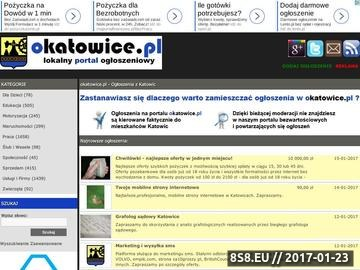 Zrzut strony Ogłoszenia Katowice