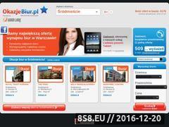 Miniaturka domeny www.okazjebiur.pl