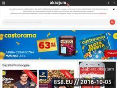 Miniaturka domeny okazjum.pl