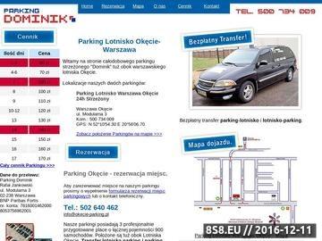 Zrzut strony Lotnisko Parking Okęcie - parking lotnisko, parking warszawa