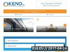 Miniaturka okeno.pl (Bezpłatne ogłoszenia nieruchomości)
