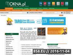 Miniaturka okna.pl (Okna, drzwi, okucia, akcesoria - nowości z branży)
