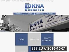 Miniaturka domeny oknabednarek.pl
