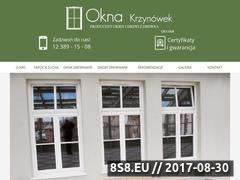 Miniaturka oknakrzynowek.pl (Okna drewniane Kraków)