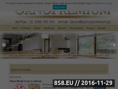 Miniaturka domeny www.oknopremium.com.pl
