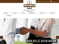 Miniaturka domeny oknostol.com.pl