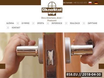 Zrzut strony Producent okien drewnianych Małopolska