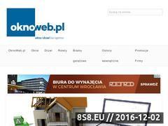 Miniaturka domeny www.oknoweb.pl