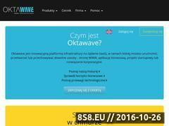 Miniaturka domeny www.oktawave.com