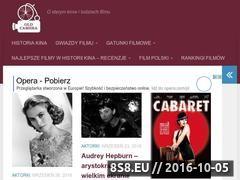 Miniaturka oldcamera.pl (Blog z historią kina, recenzjami filmów i gwiazd)